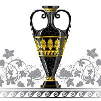 Pixwords The image with cup, black, yellow Mariia Pazhyna - Dreamstime