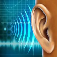 Pixwords The image with sound, ear, audio, wave Andreus - Dreamstime