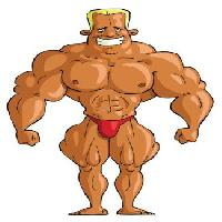 Pixwords The image with muscles, body, man, strong Dedmazay - Dreamstime