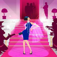 Pixwords The image with fashion, pink, people, lady, dress Mycoolsites - Dreamstime