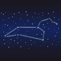 Pixwords The image with stars, sky, nature, night, lines Eva Gründemann - Dreamstime
