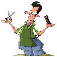Pixwords The image with barber, hair, cutters, man, scisors, brush Dedmazay - Dreamstime
