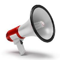 Pixwords The image with speaker, megaphone, speak Anatoly Maslennikov - Dreamstime