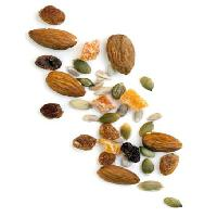 Pixwords The image with almonds, nuts, seed, seeds, sunflower, raisin Robyn Mackenzie - Dreamstime